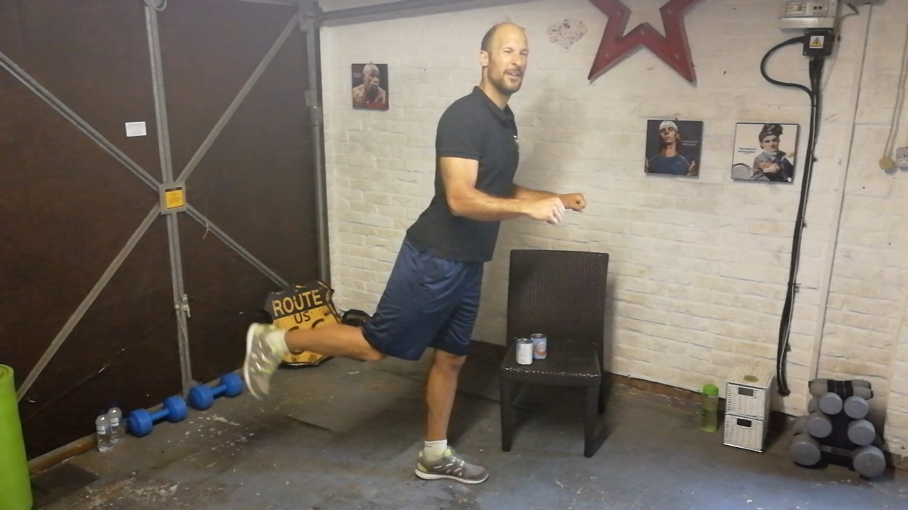 Training and strengthening the whole body