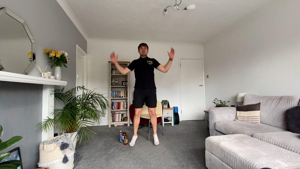 Balanced full body workout