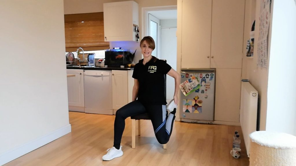 Fit For Good seated exercise for over 60s