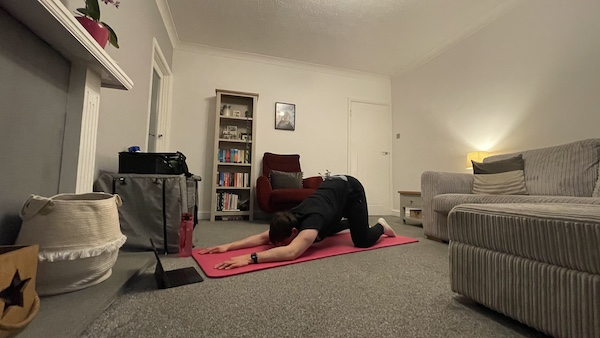 Exercises for the spine and shoulders