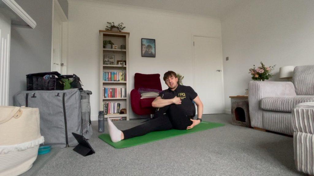 Flexibility fitness for seniors