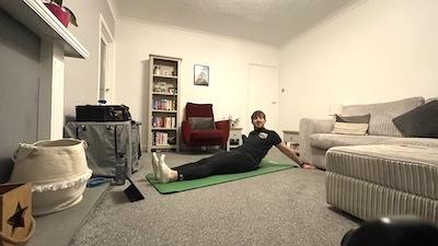 Flexibility fitness session