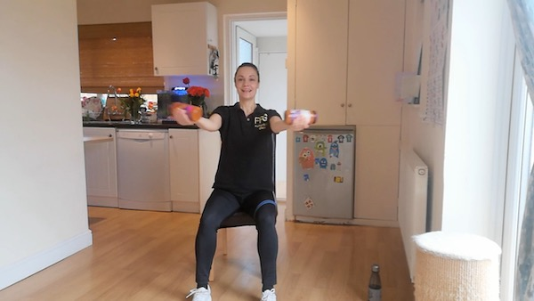 Strength exercises for over 60s
