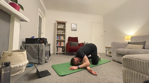 Stretching for over 60s
