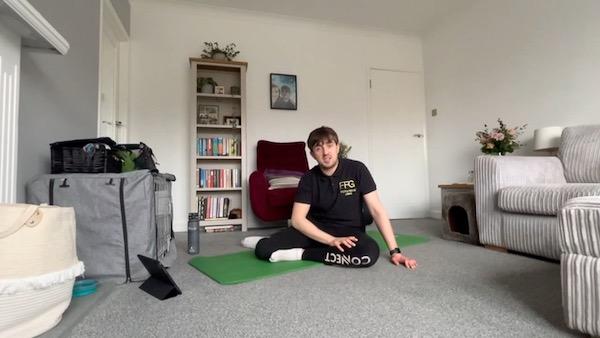 Full body stretch