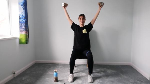 Posture and shoulder mobility workout