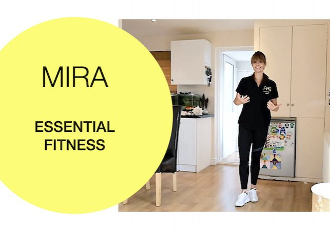 Essential fitness workout for the over 60s 2020-09-04 Fit For Good - Mira