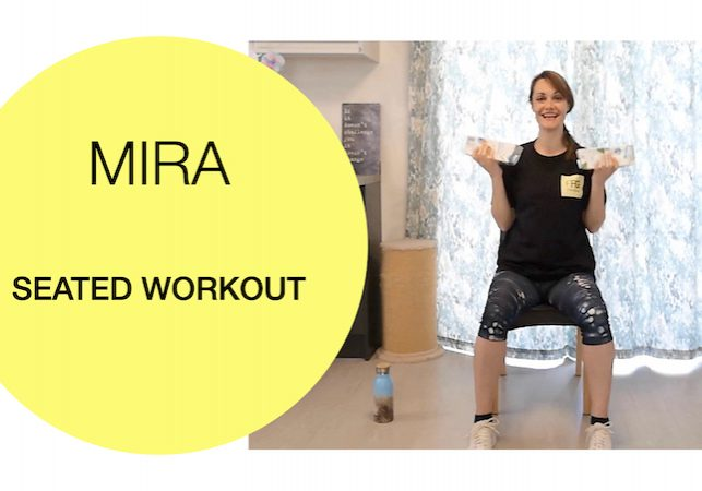 Seated functional strength workout