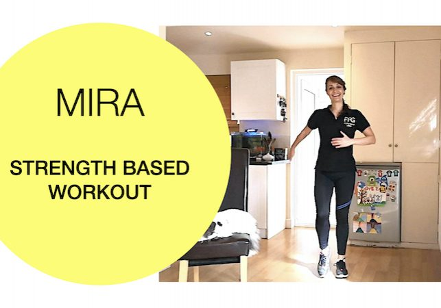 Strength based workout 2020-03-23 Fit For Good - Mira