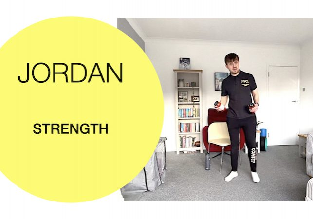 Strength building for over 60s 2021-01-20 Fit For Good - Jordan
