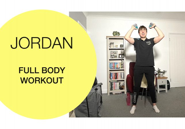 Varied full body workout