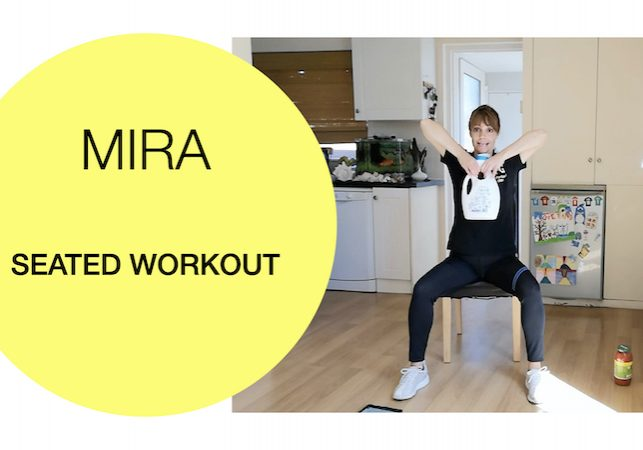 all seated full-body workout Fit For Good 2020-08-13 Mira