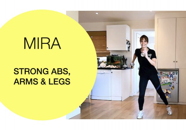 standing abdominal strength exercises